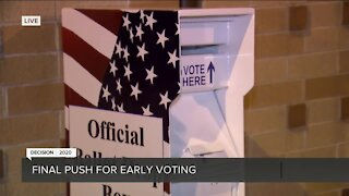Early voting in Milwaukee County