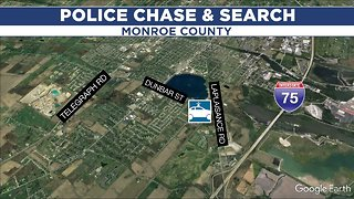 Man leads police on high-speed chase in Monroe County