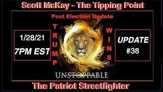 1.28.21 Patriot Streetfighter POST ELECTION UPDATE #38 Arrests Are Happening MA Troops Sent to DC