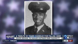 A tribute 51 years overdue for fallen Vietnam War hero