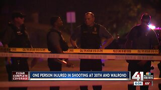 One person critically injured in overnight shooting