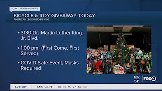 Bicycle & Toy giveaway
