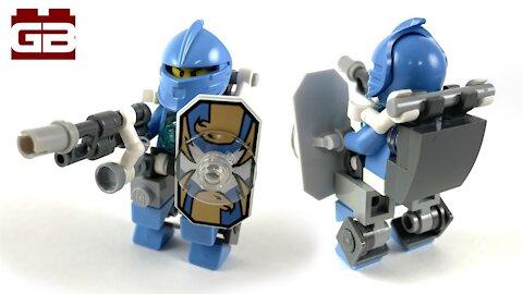 Lego Mech Suit Robot Knight   Lego MOC Tutorial