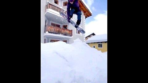 Swiss village shred