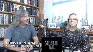 """Today's Guest on """"STRAIGHT TALK"""" is Pastor Chris Quintana Speaking on The State of the Modern Church"""