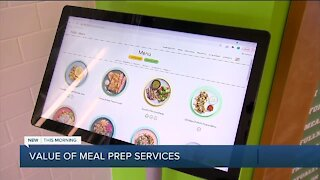 Value of meal prep services
