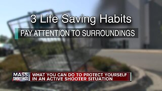 3 habits that could save your life in a mass shooting