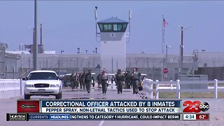 North Kern State Prison correctional officer attacked by inmates