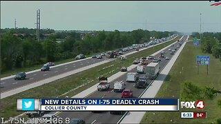 Florida Highway Patrol identifies man in deadly I-75 crash