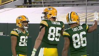 Robert Tonyan's journey to the Green Bay Packers