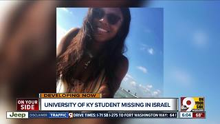 University of Kentucky student missing in Israel