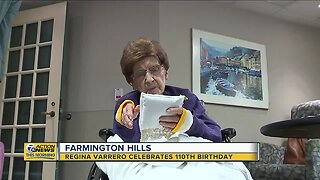 Farmington Hills woman celebrates 110th birthday