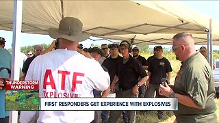 ATF teaches first responders lesson in explosives