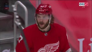 Red Wings' Michael Rasmussen confident after getting first goal of season