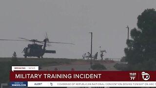 Military training incident