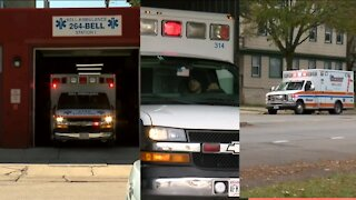 The ambulance companies helping Milwaukee's 911 service are stretched to the max