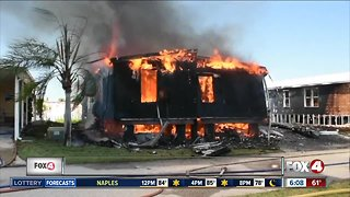 Punta Gorda couple loses everything in house fire