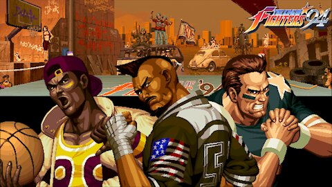 Gaming with CTP: King of Fighters '94 Part 4 of 8: USA/Sports Hero Team Playthrough!