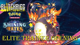 Pokemon Shining Fates Elite Trainer Box Opening