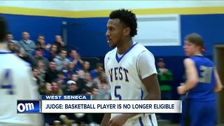 Judge: basketball player is no longer eligible