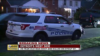 29-year-old man shot and killed on Detroit's west side