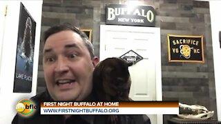 FIRST NIGHT BUFFALO AT HOME