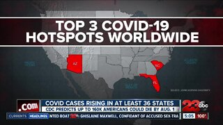COVID-19 cases rising in at least 34 states