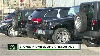 Don't Waste Your Money: Broken promises of gap insurance
