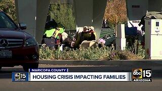 Housing crisis impacting families