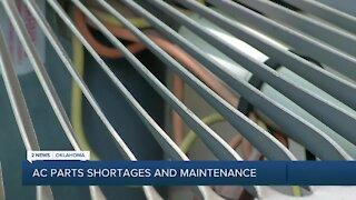 HVAC parts shortage