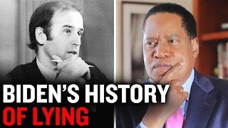 Joe Biden's History of Lying | Larry Elder