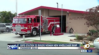 Firefighters perform good deed