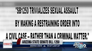 Proposed Arizona bill offers greater protection to sexual assault victims