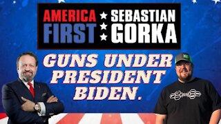 Guns under President Biden. Jon Patton with Sebastian Gorka on AMERICA First