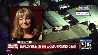 Missing Mesa woman found dead