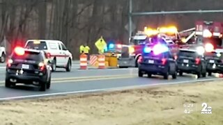 Multi-car crash in Howard County shuts down part of Route 32