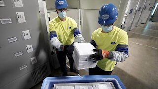 First COVID-19 Vaccines Leave Pfizer Plant