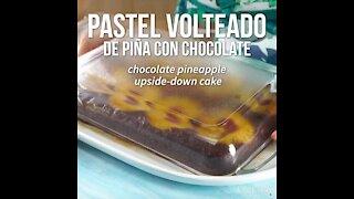 Chocolate Pineapple Upside Down Cake