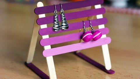 10 creative DIY earring holder ideas