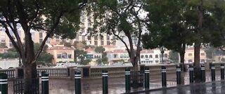 Thunderstorms across Las Vegas