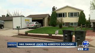 Fountain man finds holes in insurance coverage after hail, asbestos damage