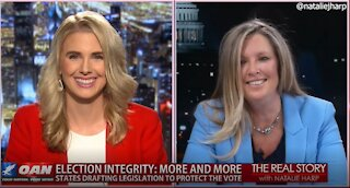 The Real Story - OANN Election Integrity with Katharine Sullivan