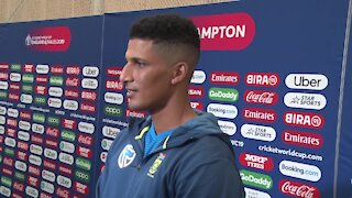 VIDEO: Beuran Hendricks hopes to be 'the good luck' Proteas need (nr3)