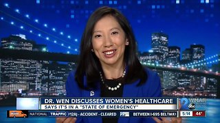 Former Baltimore Health Commissioner speaks out about women's healthcare