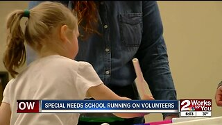 Special needs school running on volunteers