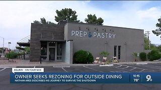 Tucson Restaurant owner seeks rezoning for outside seating