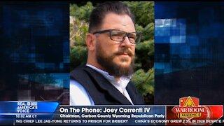 Steve Bannon interviews Joey Correnti IV
