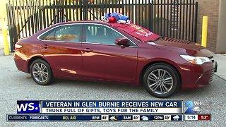 Progressive Insurance gifts veteran family with free car
