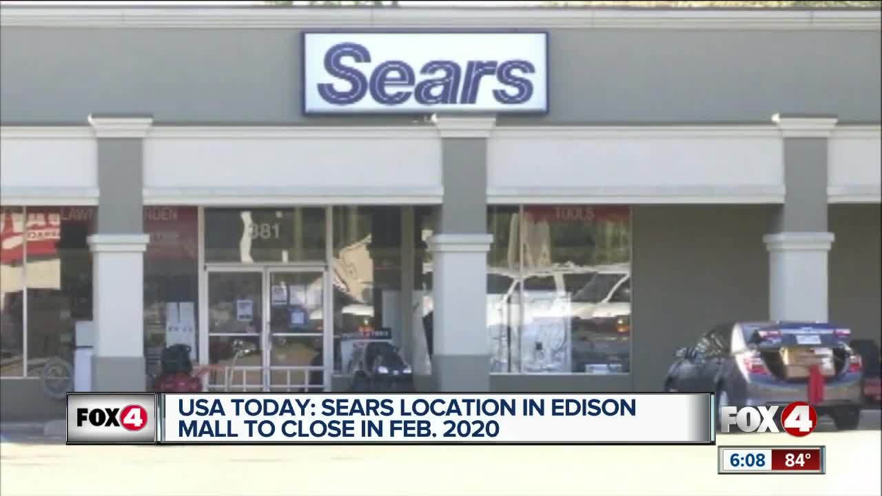 Sears location in Edison Mall to close in 2020