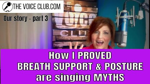 How I PROVED ' breath support' is just a myth